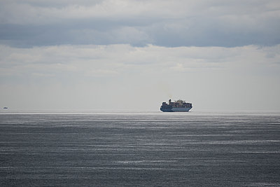 Ärmelkanal, Containerschiff - p930m2148424 von Ignatio Bravo