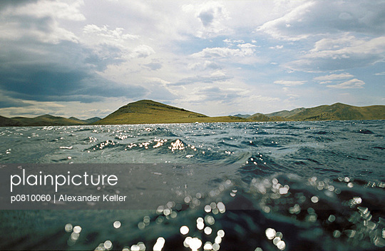 Inselgruppe im Meer - p0810060 von Alexander Keller