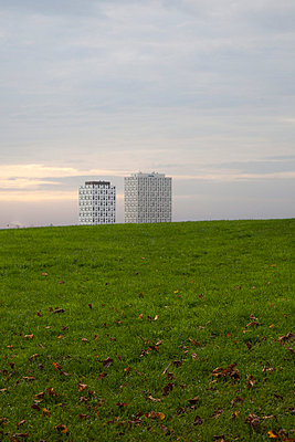 Tower building - p445m729181 by Marie Docher