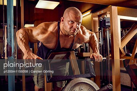 Bodybuilding - p1200m1159358 von Carsten Görling