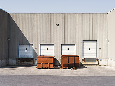 Loading Bay, Industrial - p1335m1508322 by Daniel Cullen