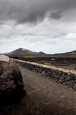 Volcanic landscape, Lanzarote - p1598m2164411 by zweiff Florian Bier