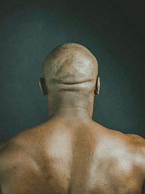Bald head - p445m1527811 by Marie Docher