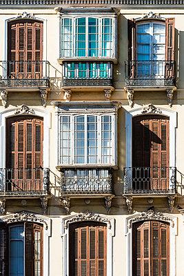 Historische Fassade, Malaga - p488m1169001 von Bias