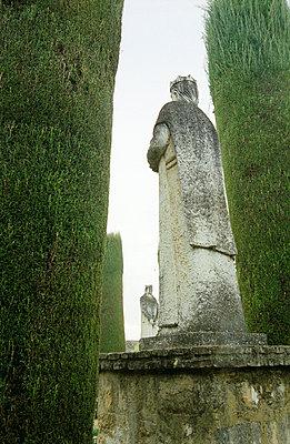 Statuen im Park - p3380139 von Marion Beckhäuser