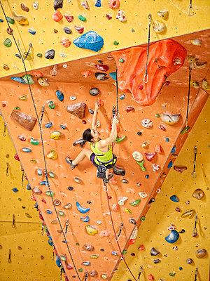 Climbing wall - p1298m1134500 by mic