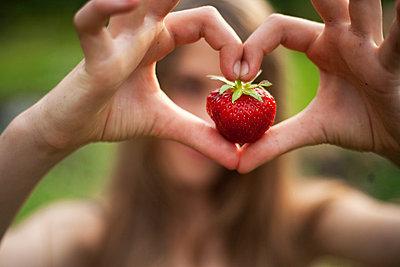 Erdbeere - p6250085 von A Lampe