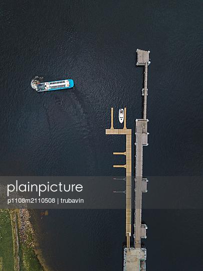 Shlisselburg, Pleasure boat - p1108m2110508 by trubavin