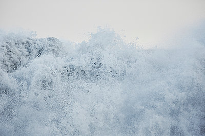 Stormy beach in winter - p719m1123216 by Rudi Sebastian
