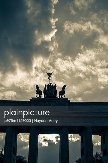 Brandenburg Gate - p975m1129003 by Hayden Verry