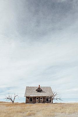 Altes Holzhaus - p1262m1215945 von Maryanne Gobble