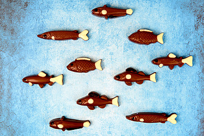 Schokofische - p451m2086943 von Anja Weber-Decker