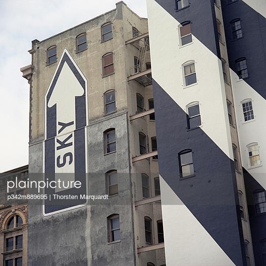 Abrisshaus in San Francisco - p342m889695 von Thorsten Marquardt