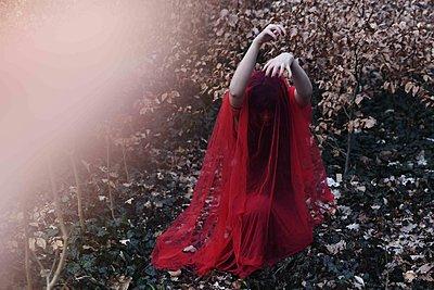 Tanz in rotem Kleid - p1229m2259631 von noa-mar