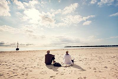 Am Strand - p1515m2053451 von Daniel K.B. Schmidt