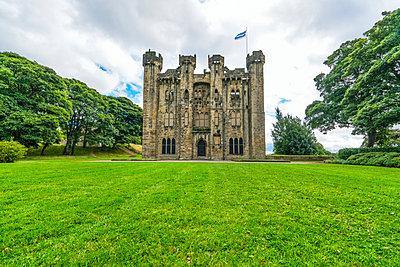Hylton Castle; Sunderland, Tyne and Wear, England - p442m1449001 by John Short