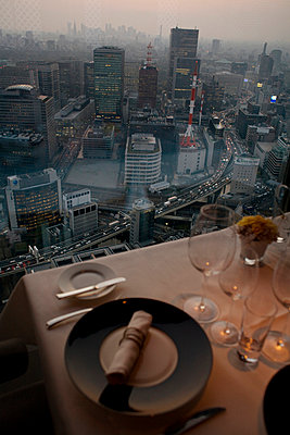 Dinner with a view - p7840003 by Henriette Hermann