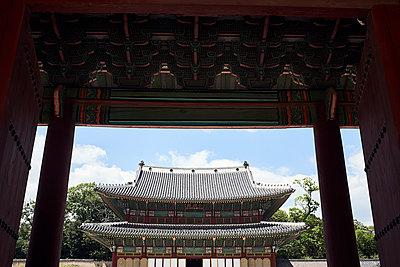 Korea, Seoul, Temple - p1492m2223608 by Leopold Fiala