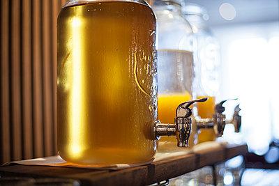 Glass beverage dispensers - p623m1495177 by Gabriel Sanchez