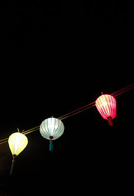 Three paper lamps - p5800013 by Eva Z. Genthe