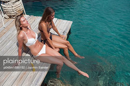 Wohlfühlen im Urlaub - p045m1585152 von Jasmin Sander