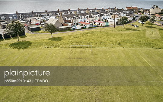 Football ground, St.Monance, Scotland - p850m2210143 by FRABO