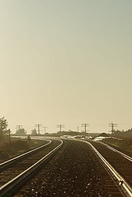 Train Tracks - p1335m1193712 by Daniel Cullen