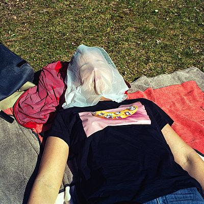 Sunbathing - p1462m2027439 by Massimo Giovannini