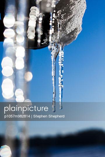 Eiszapfen - p1057m982814 von Stephen Shepherd
