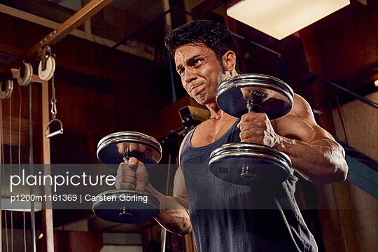 Bodybuilding - p1200m1161369 von Carsten Görling