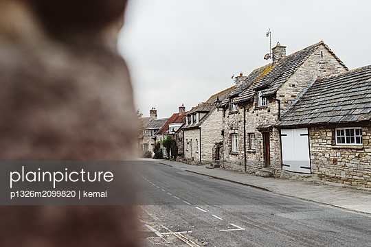 Streets of Corfe Castle - p1326m2099820 by kemai