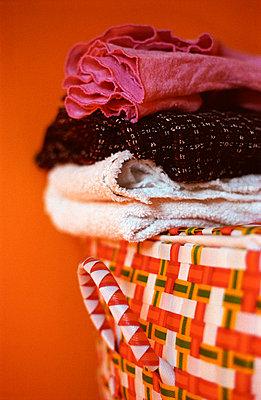 Wäsche auf dem Korb - p2140056 von hasengold
