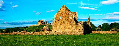 Rock of Cashel, Hore Abbey, Cashel, County Tipperary, Ireland - p4429466f by Design Pics