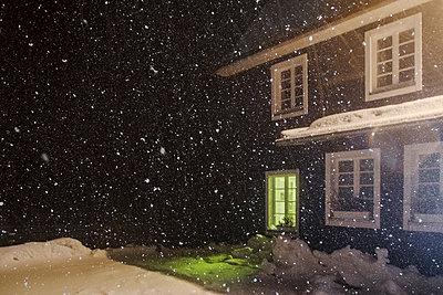 Snow storm - p335m1123064 by Andreas Körner