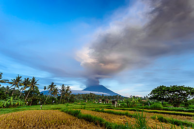 Volcano Agung,Bali,Indonesia - p343m1578172 by Konstantin Trubavin