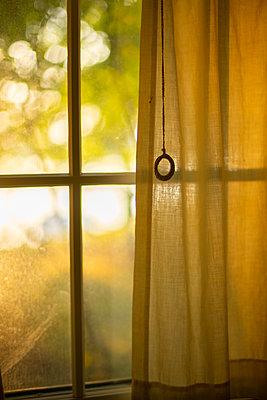 Window at sunset - p1614m2211842 by James Godman