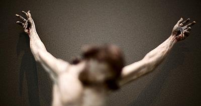 Crucifixion - p994m739487 by Philip BERNARD