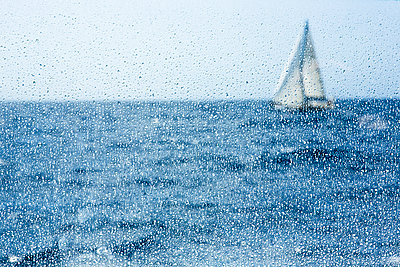 Sailing boat - p1057m1591708 by Stephen Shepherd