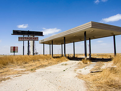 Route 66 Service station - p1120m925666 by Siebe Swart