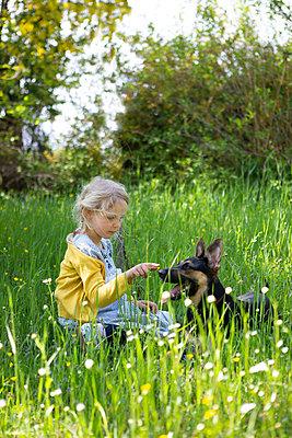 My friend, the dog - p454m2200597 by Lubitz + Dorner