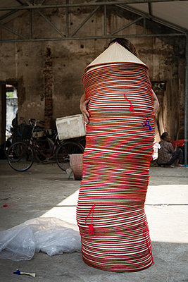 Chuong Village in Ha Tay Province, Vietnam, Southeast Asia, 2013. - p934m892949 by Francis Roux photography