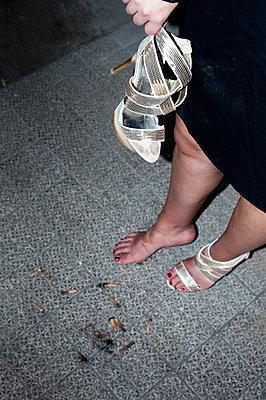 Woman in nightlife - p8300093 by Schoo Flemming