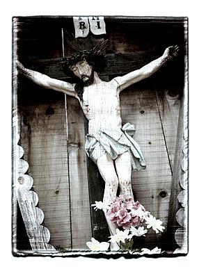Christus am Kreuz, Jesus - p9790391 von Weber-Decker