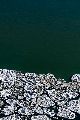 Ice on Water - p1331m1169267 by Margie Hurwich