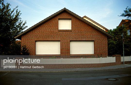 Wohnhaus - p0190091 von Hartmut Gerbsch