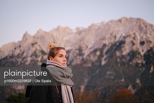 Deutschland, Bayern, Wandern im Karwendel Gebirge - p1600m2229832 von Ole Spata