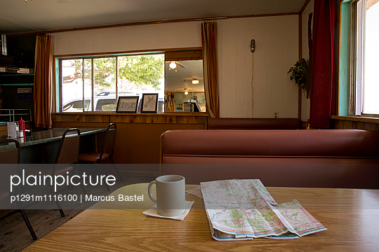 Roadmap and Coffee - p1291m1116100 by Marcus Bastel
