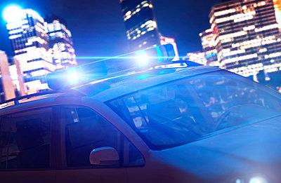 Polizei, Blaulicht - p1275m1201307 von cgimanufaktur