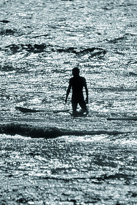 Surfer - p1028m1057106 by Jean Marmeisse