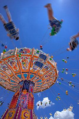Oktoberfest carousel Merry go round Munich Germany - p609m765465 by WRIGHT